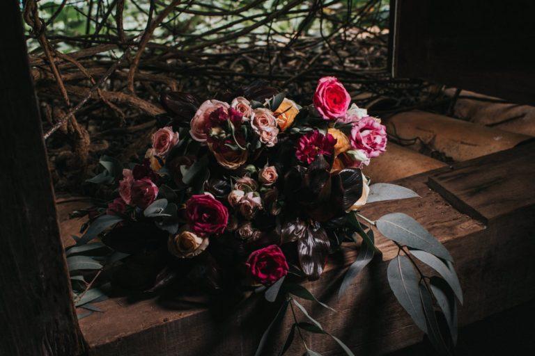 foto do bouquet de fotógrafo de casamento