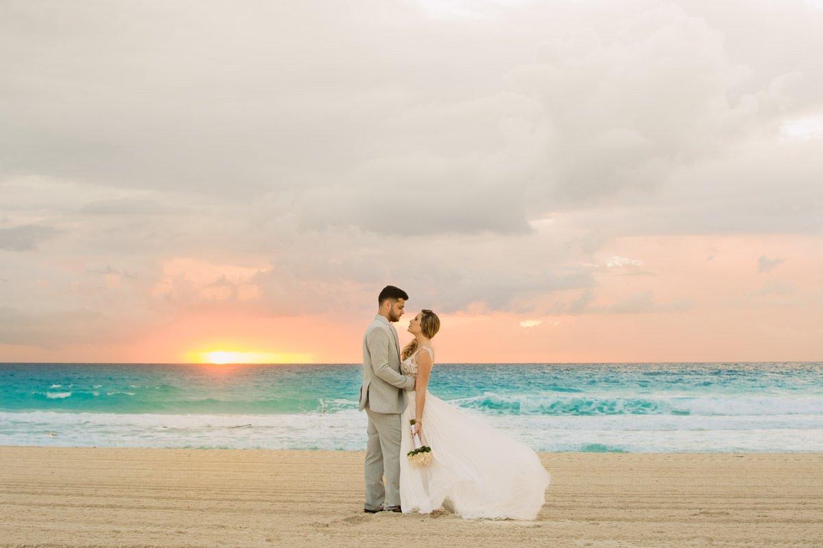 ensaio pós-casamento cancun destination wedding