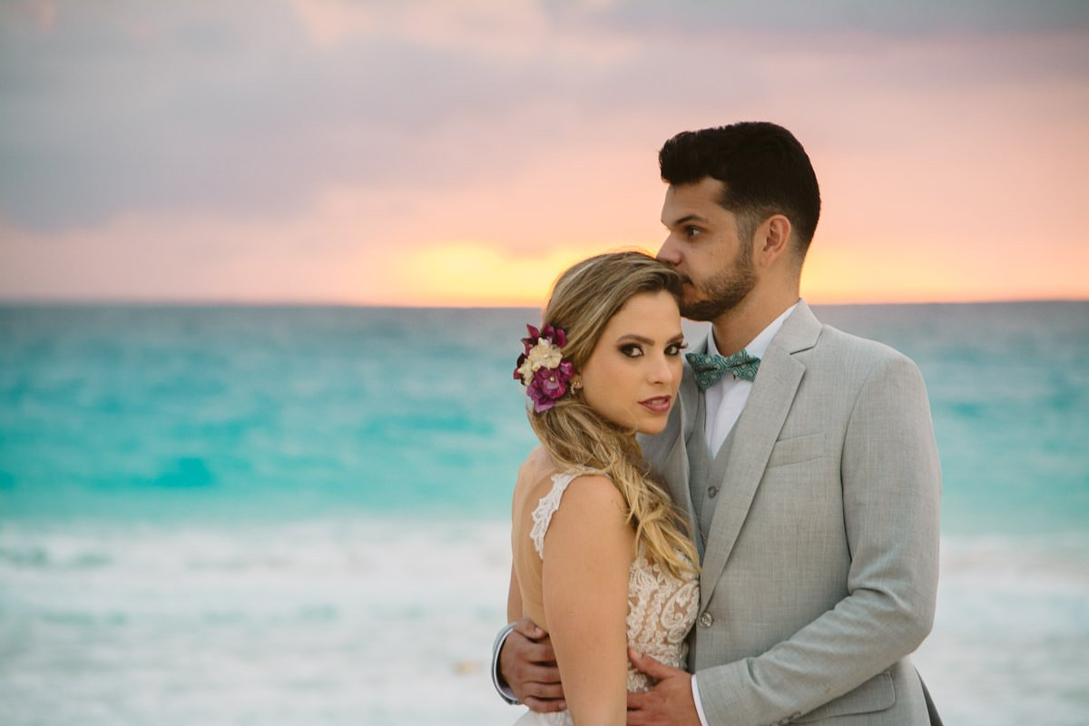 fotografia de casamento em cancun