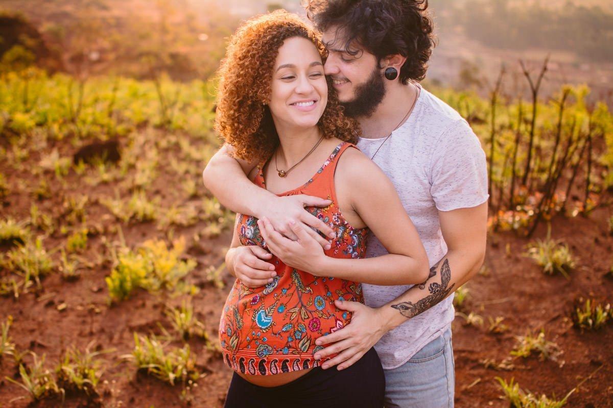 ensaio gestante no pôr-do-sol fotografia de família fotos de grávida belo horizonte le gras