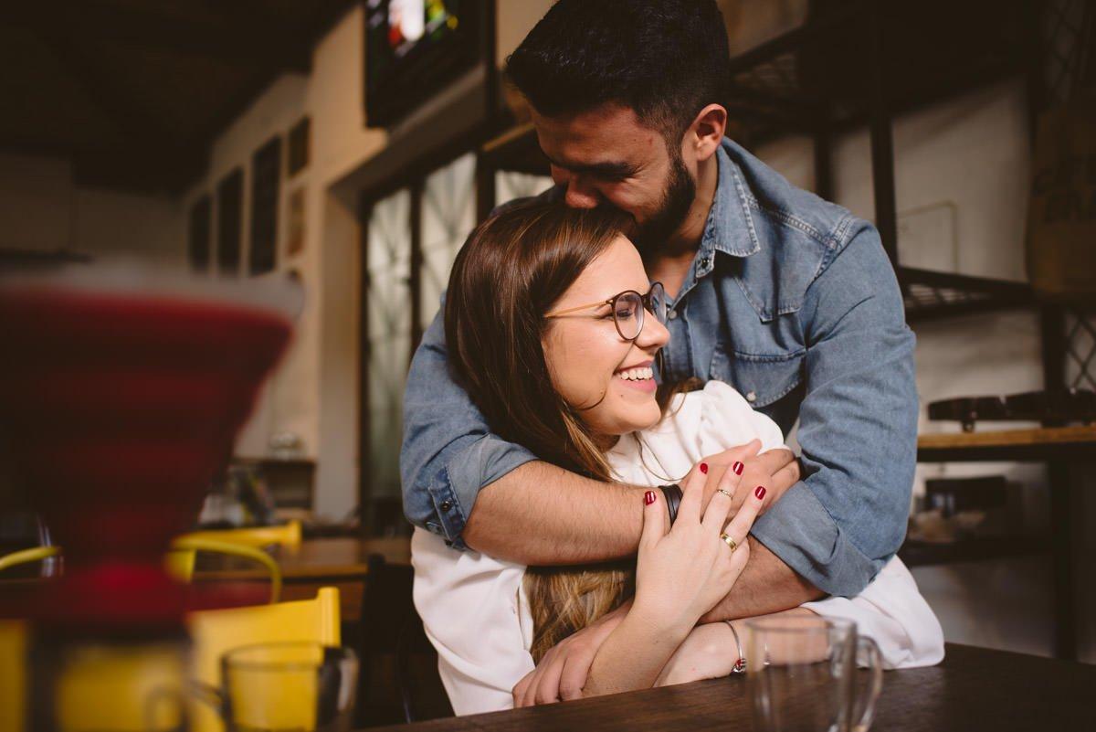 ensaio pré-wedding no café noete por le gras fotografia de casamento e família em bh