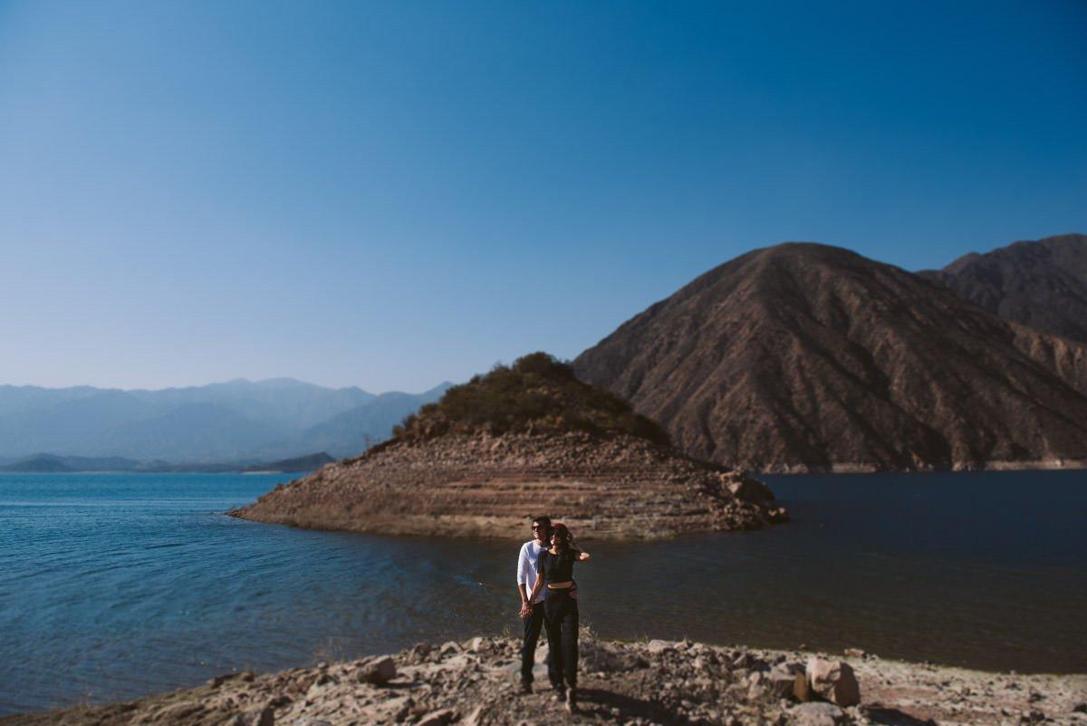 ensaio pré-wedding na argentina represa potrerillos le gras fotografia de casamento em belo horizonte bh